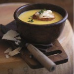 Parmigiano Reggiano and Pumpkin Soup