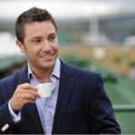 Gino D'Acampo lays down the challenge to competitors with his £1 coffees