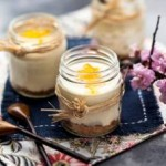 Yuzu and Tofu Cheesecakes